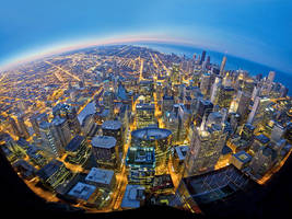 willis tower panoramic by delobbo