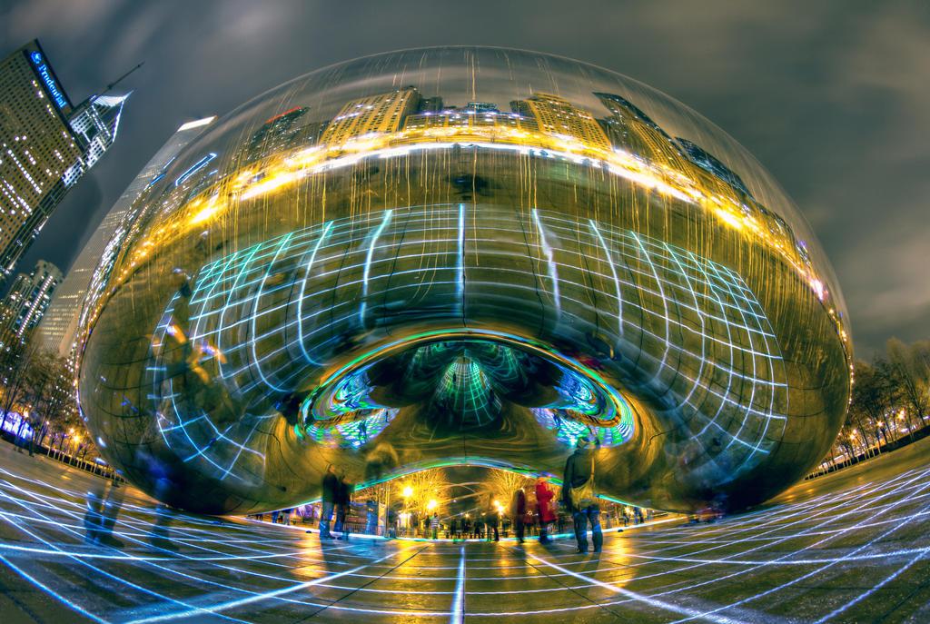 "Luftwerk ""Luminous Field"" Exhibit v1 by delobbo"