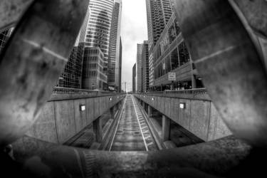 BW HDR intersection