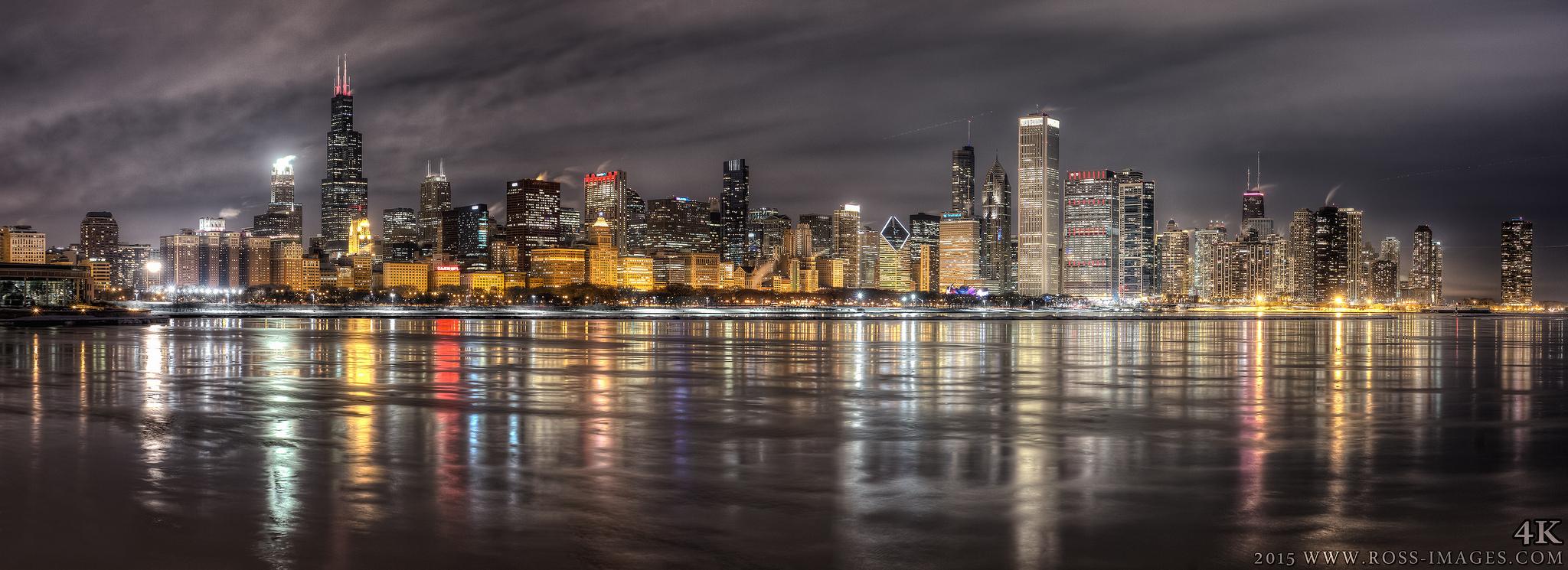 chicago skyline art - photo #29