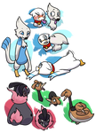 Levels for newer mons