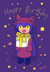 Niko's Birthday Gift for You by exfodes