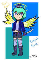 Remyah Azure (Touaoii 2019) by exfodes