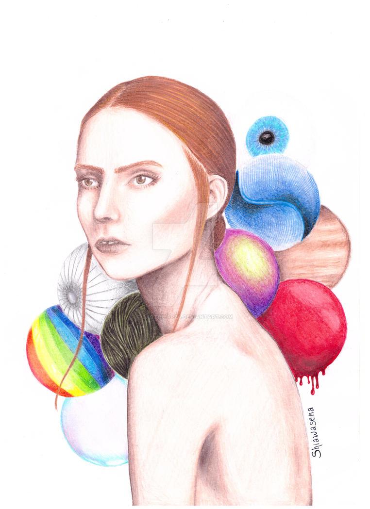 My Head, my universe by DarthLiapza