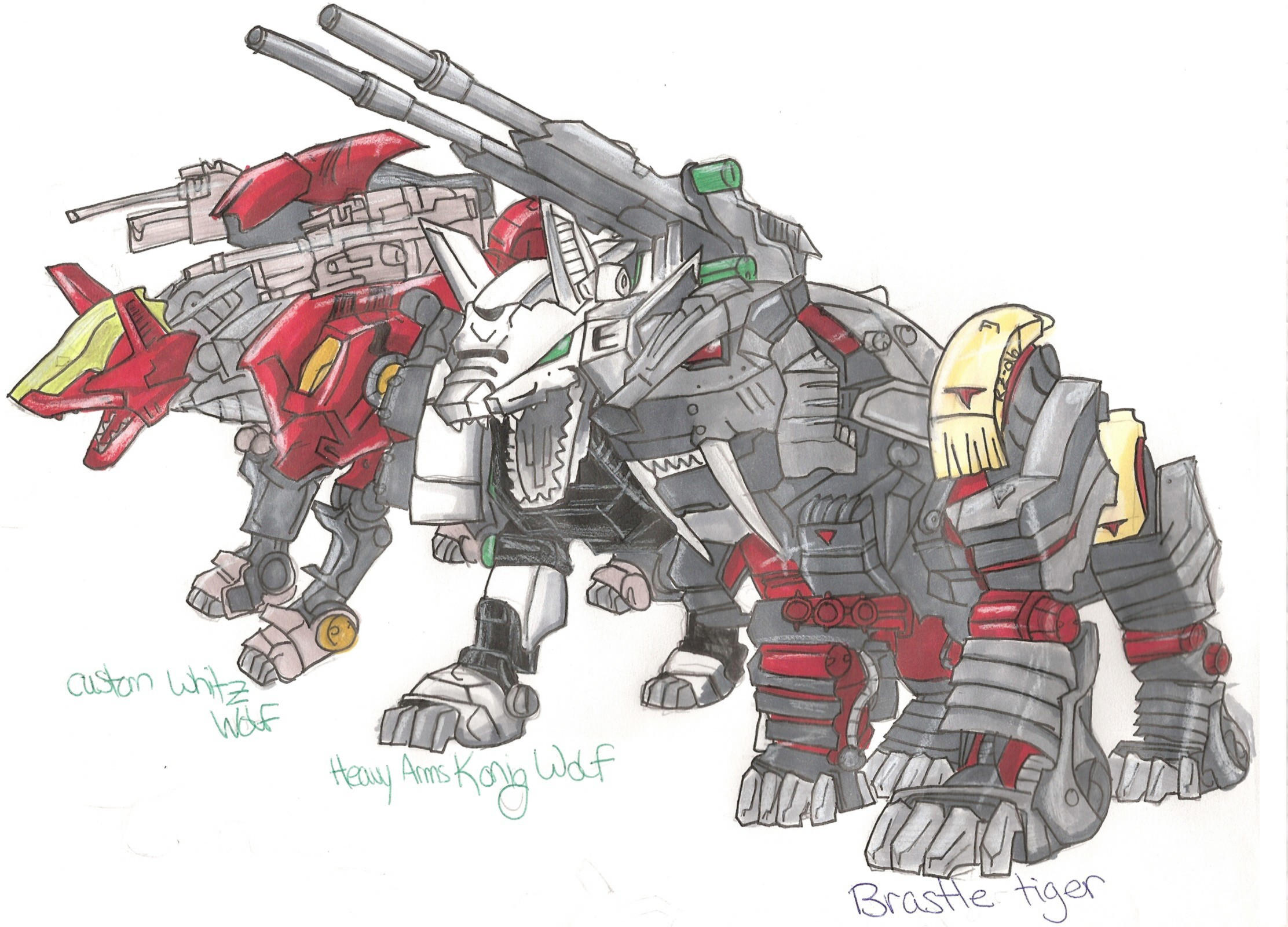 Zoids group by Bukaojo
