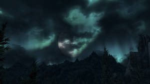Cloudy Night Lights