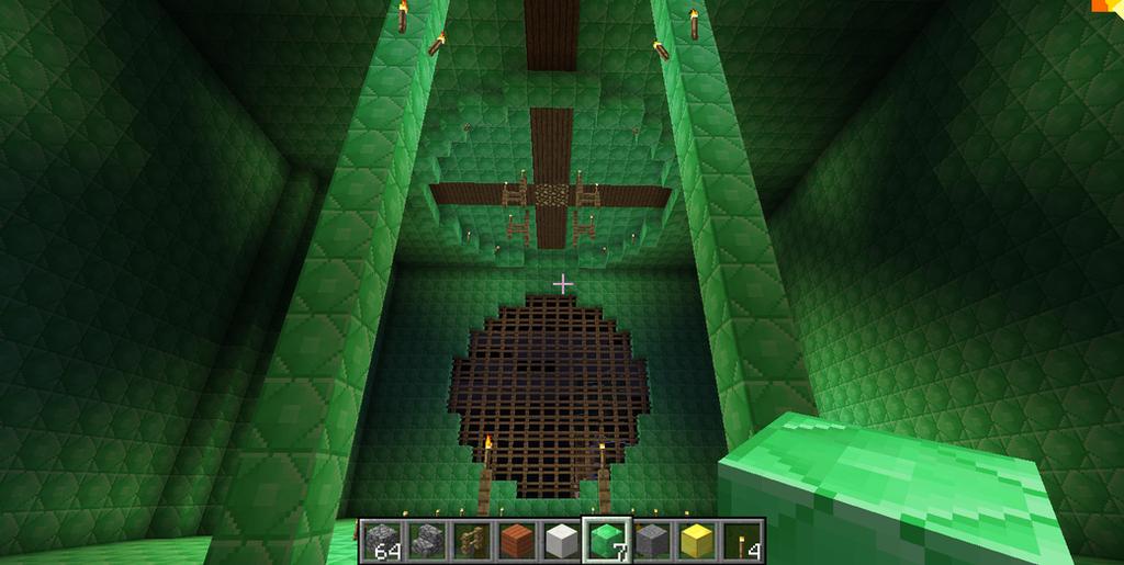 Minecraft Emerald Wallpaper Emerald Palace5 Minecraft