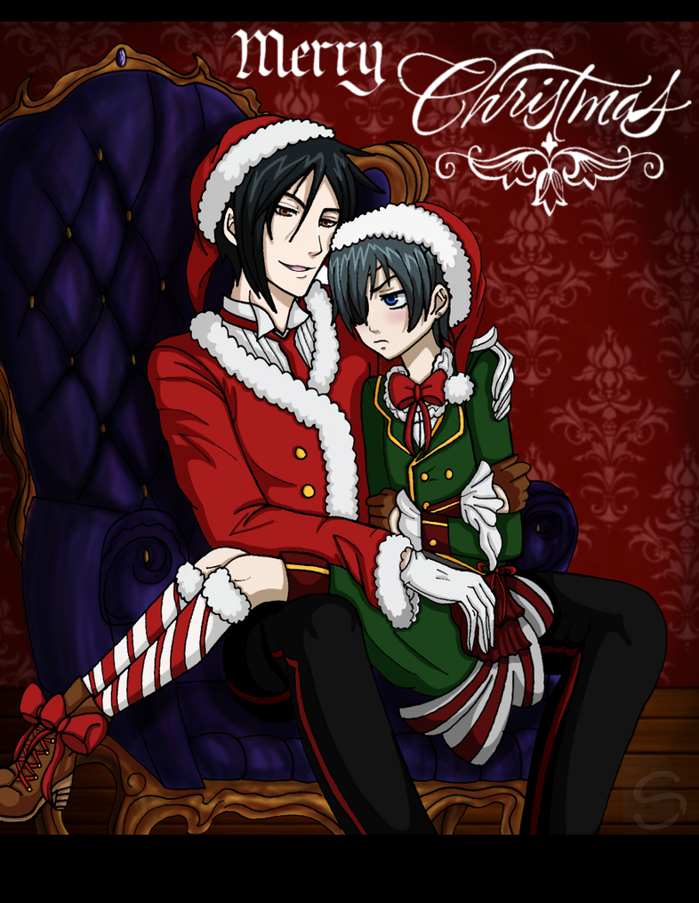 bb one hell of a merry christmas by xsharonthehedgehogx - Black Butler Christmas