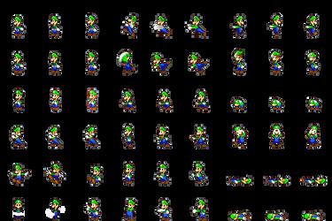 Luigi Side View Battle for RPG Maker MV by Xabring on DeviantArt