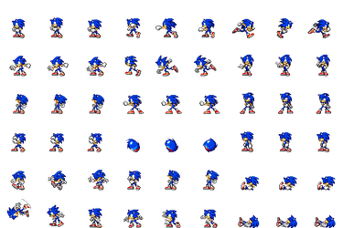 Sonic Side View Battle for RPG Maker MV by Xabring