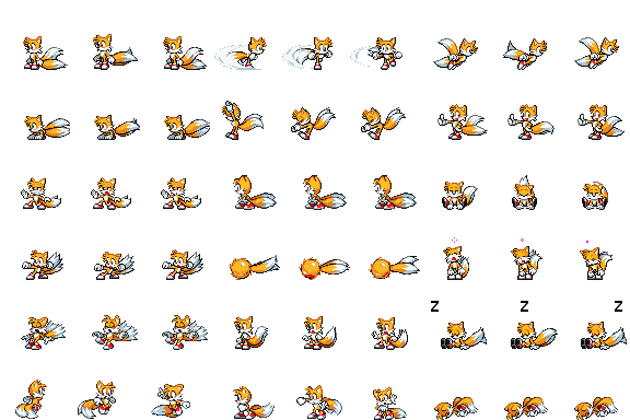 Tails Side View Battle for RPG Maker MV by Xabring on DeviantArt