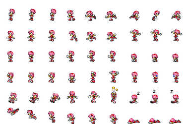 Amy Rose RPG Maker MV by Xabring