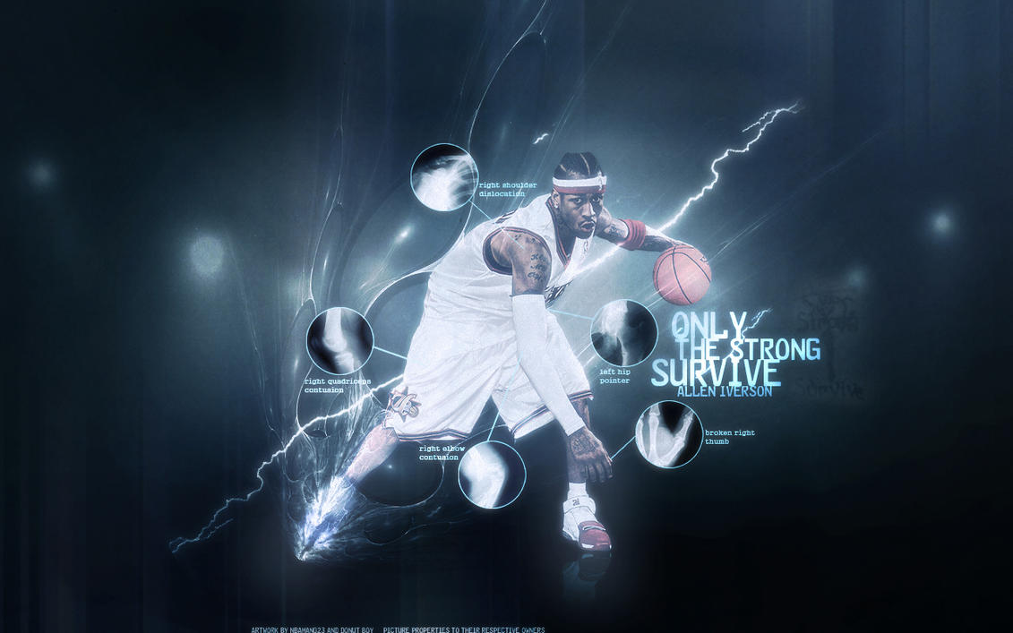 Allen Iverson Wallpaper By Sha Roo