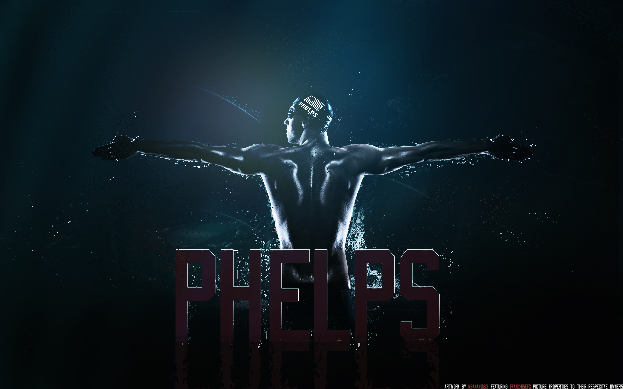 Michael Phelps by sha-roo