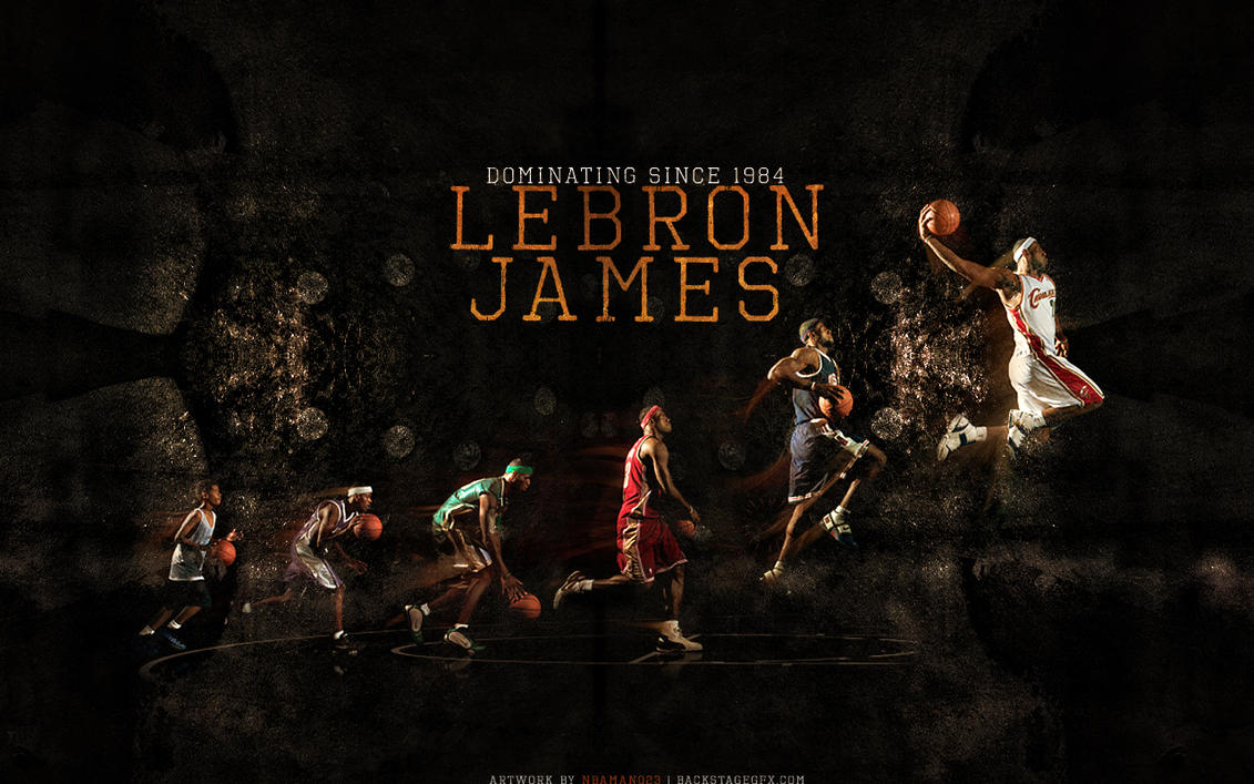 LeBron James By Sha Roo