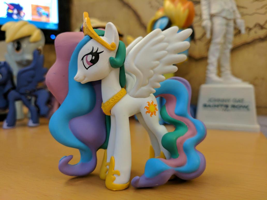 Princess Celestia Figurine Mystery Mini's 3 by CatusDruidicus