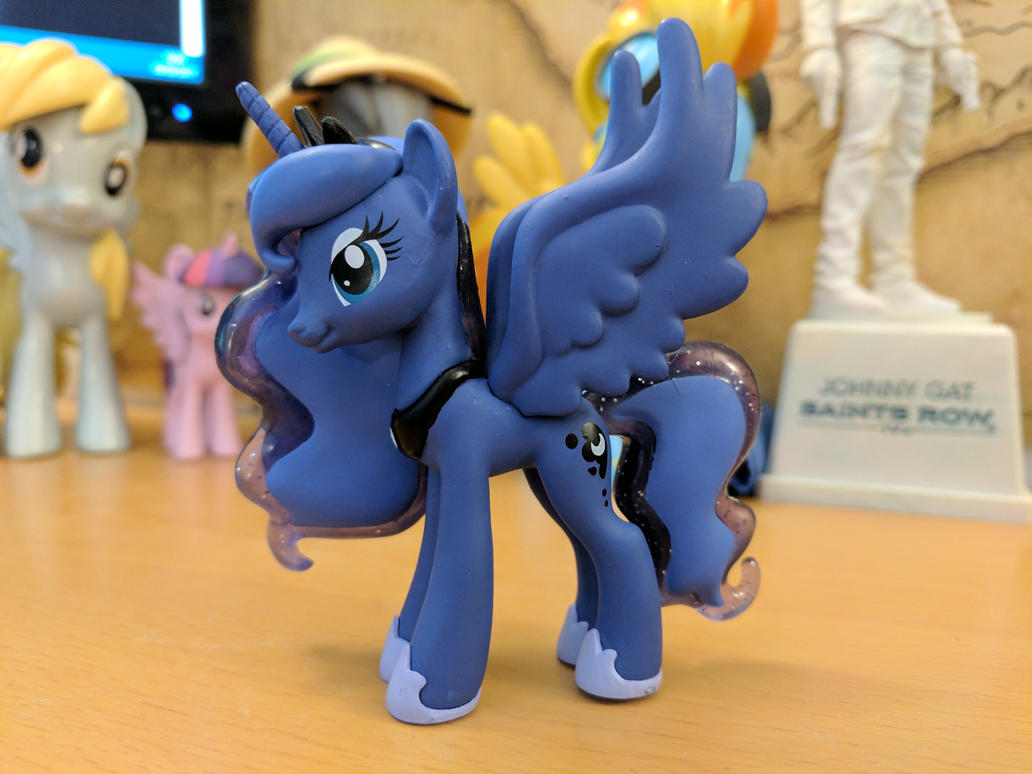 Princess Luna Figurine Mystery Mini 3 by CatusDruidicus