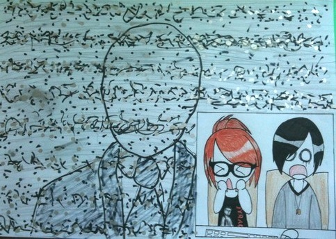 Anthony And Kalel And Buki Drawing