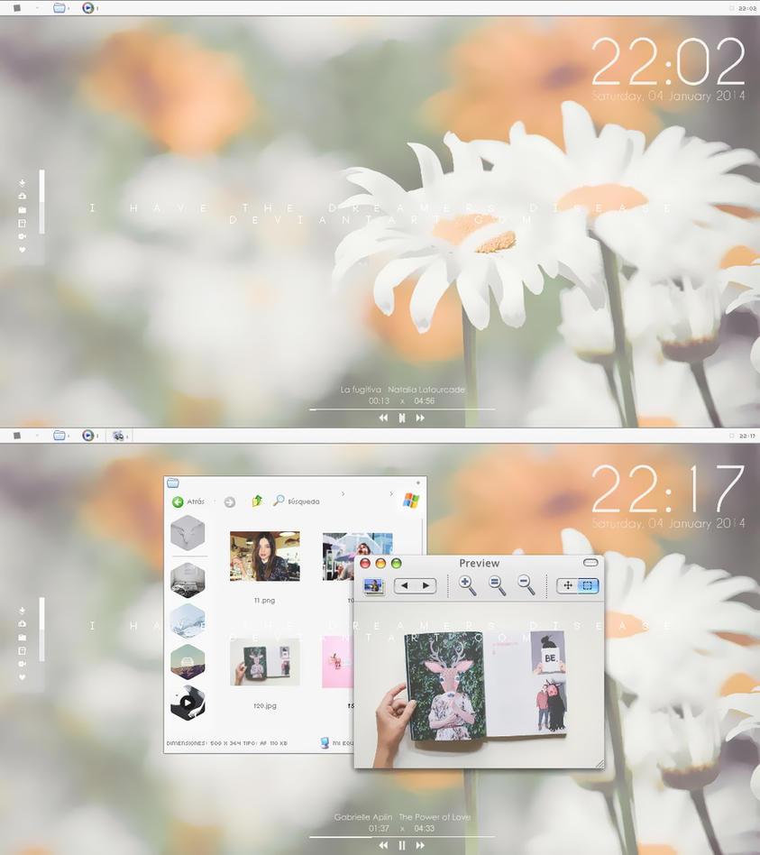 Desktop Pastel by Ihavethedreamersdise
