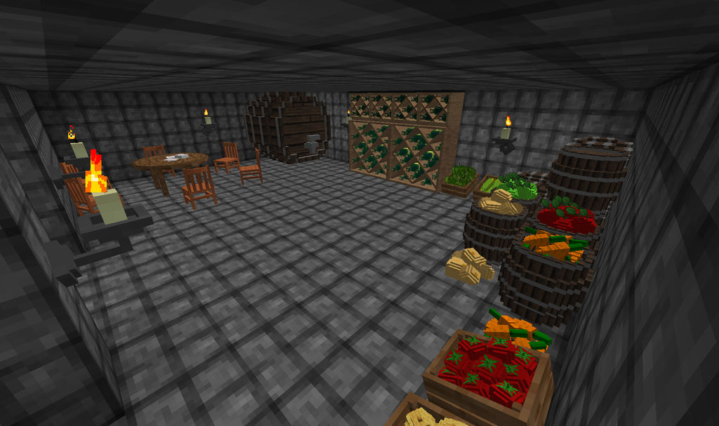 Thaumic Alchemy Fortress - Larder by DarkFury45 on DeviantArt