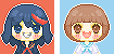 free to use - kill la kill icon set by piijenius