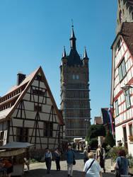 Blauer Turm by Merkosh