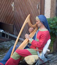 Harfenspiel by Merkosh