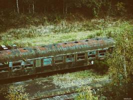 Abandoned Railroad by Merkosh