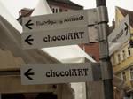 Chocolate this way by Merkosh