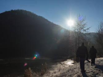 Photographer's walk by Merkosh