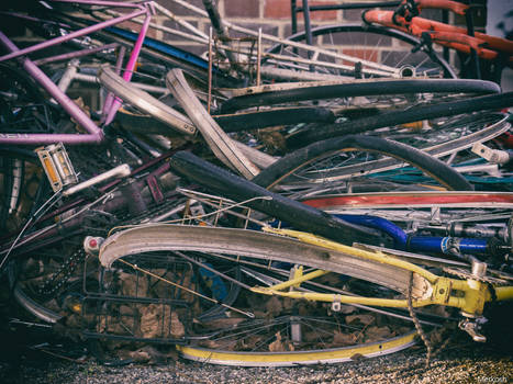 Pile of Bicycles