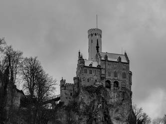 Castle on the Rock by Merkosh