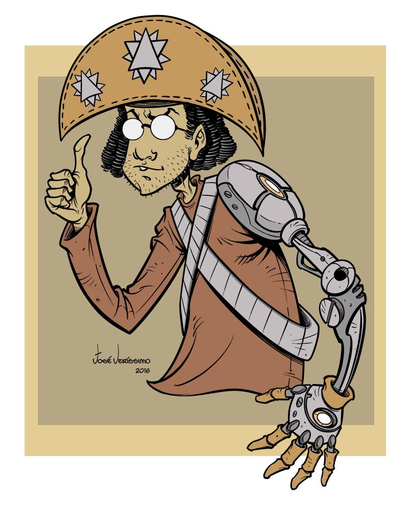 CabraNerd_Mascot by Verissimosousa