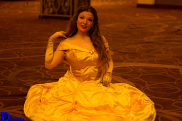 Princess Belle Cosplay - She's Rather Odd
