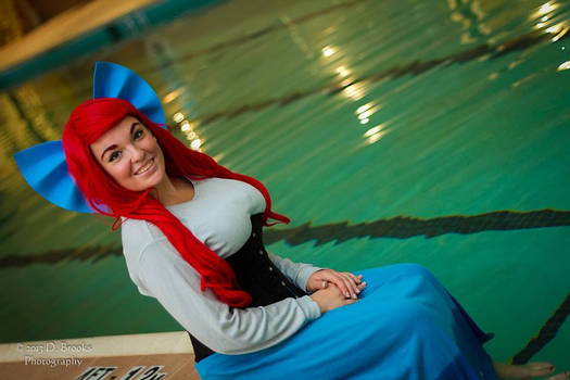 Princess Ariel Cosplay - Where the People Are