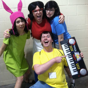Bob's Burgers Cosplay - Ahw! Those Are My Kids!