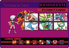 Hoenn trainer card by hannakun