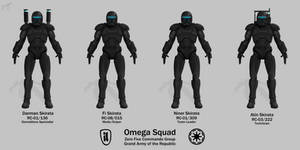 Omega Squad - Republic Commando