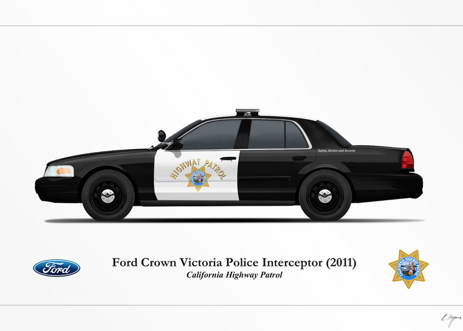 Chp Ford Crown Victoria Police Interceptor By Artifician