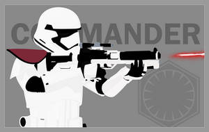 First Order Stormtrooper Officer by graphicamechanica