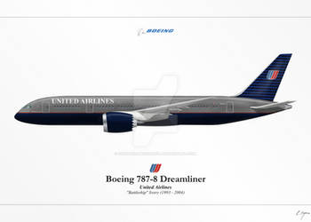Boeing 787 - United Airlines 'Battleship'