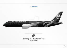 Boeing 787 - Air New Zealand