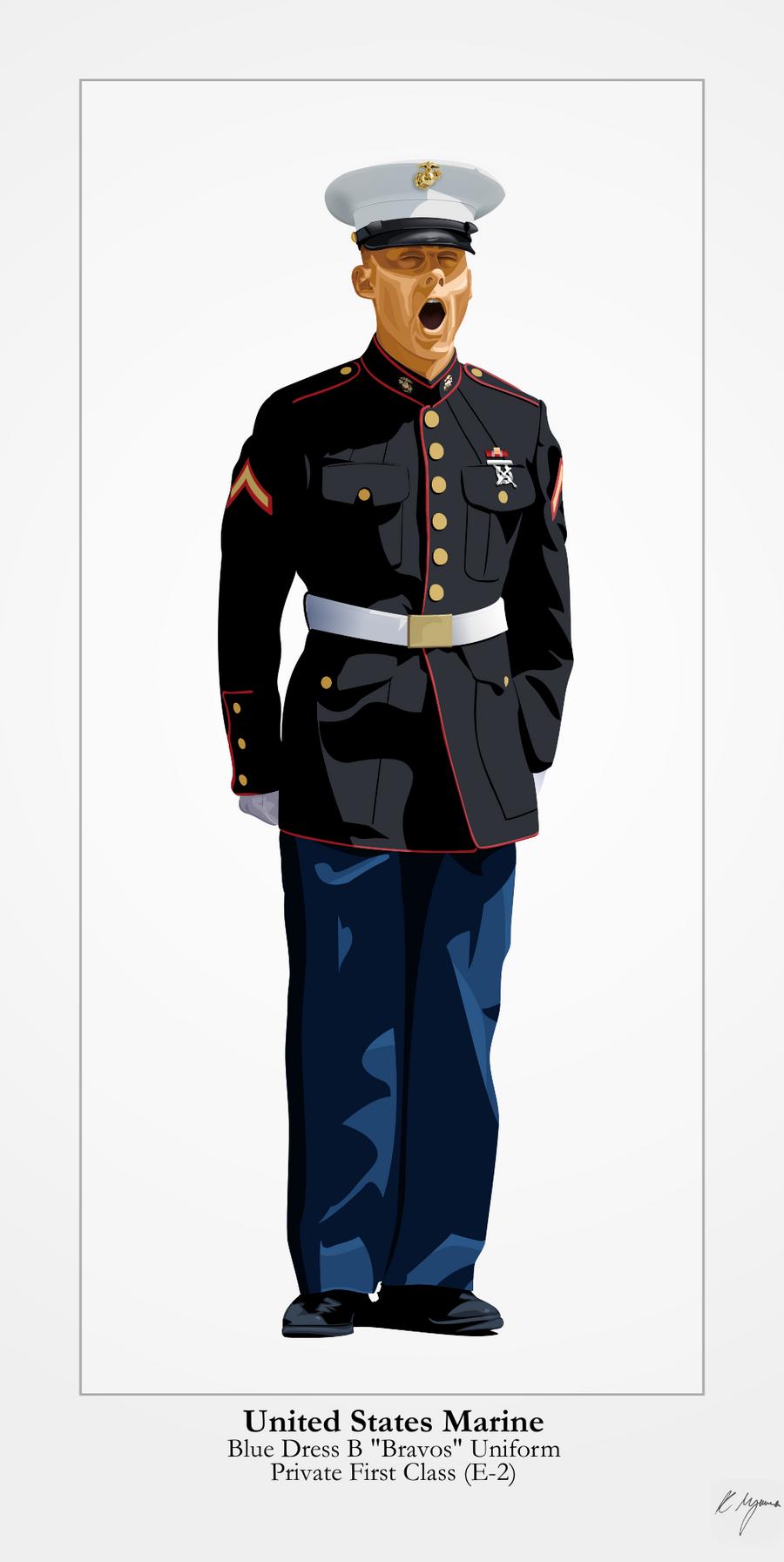Marine corps dress uniform regulations