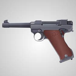 Lahti L-35 Semi-Automatic Pistol by matsudesign