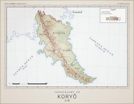 Koryeo Topography - Atlas of Anterra
