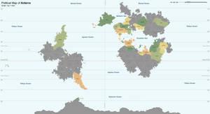 Political Map of Anterra