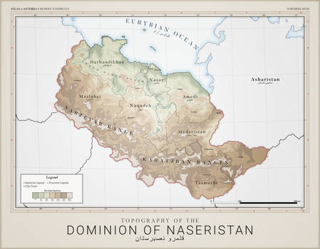 Naseristan Topography - Atlas of Anterra