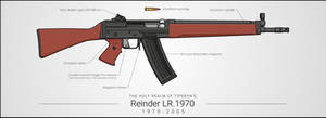 Reinder LR.1970 Assault Rifle