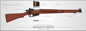 Wexford LR.1905/25 Bolt-Action Rifle by graphicamechanica