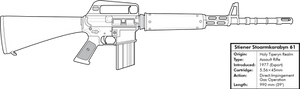 Stiener Stoarmkarabyn 61 Assault Rifle